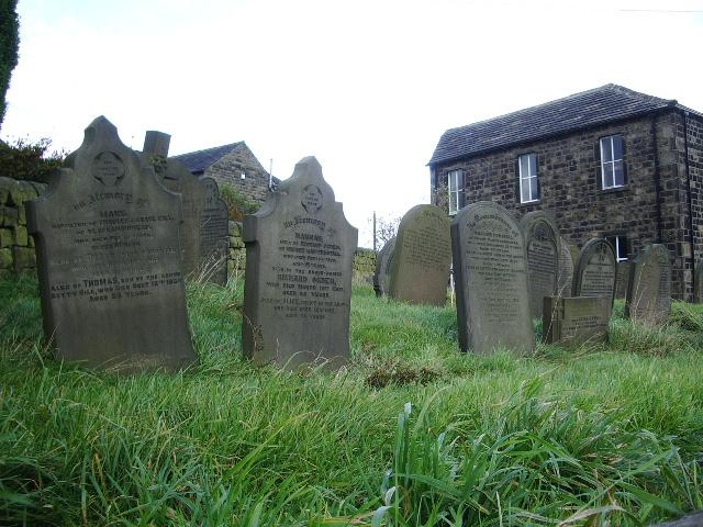Blackshaw Head Methodist Church, Graveyard