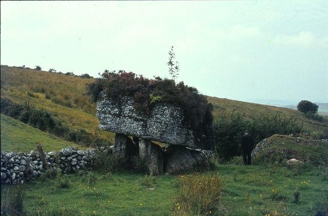 Dolmen at Carrickglass, Co. Sligo