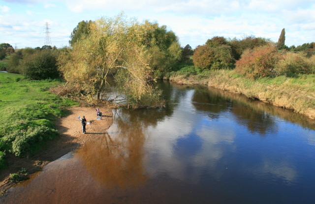 The Derwent from Borrowash Bridge