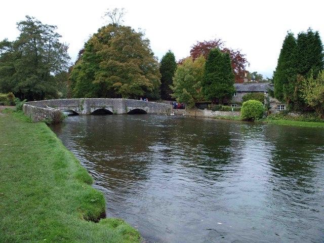 Sheepwash bridge Ashford in the Water
