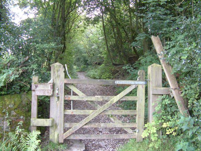 Gate to Green Lane