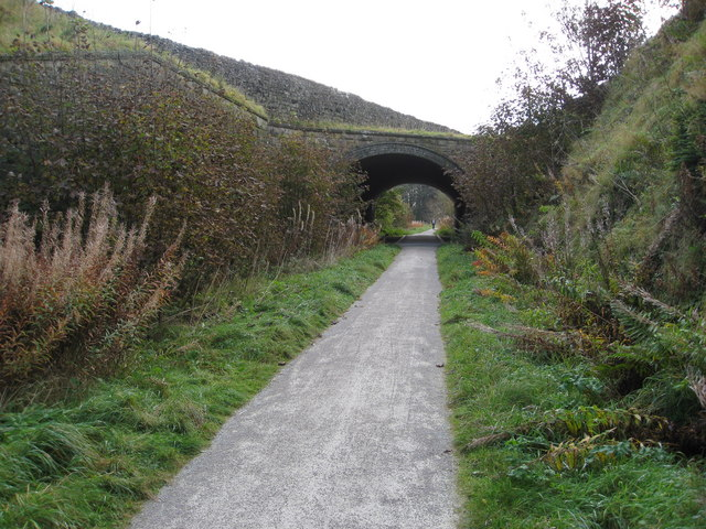 Tissington Trail - Passing under the A515