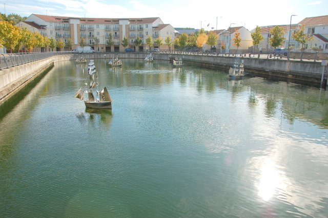 Captains Wharf Old Dry Dock now a feature
