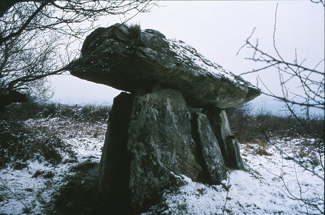 Dolmen at Gaulstown, Co. Waterford