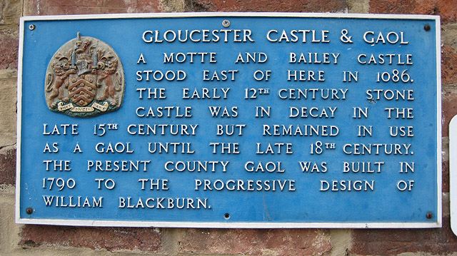 Gloucester castle and gaol