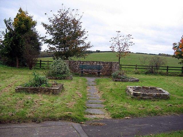 Community garden at Littletown crossroads