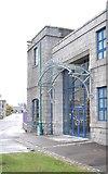 NJ9406 : Satrosphere building by Stanley Howe