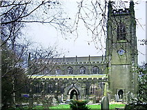 SD9828 : The Parish Church of Heptonstall, St Thomas a Becket & St Thomas the Apostle by Alexander P Kapp