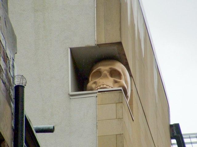 """""""Skull"""" (a companion piece to """"Cherub"""")"""