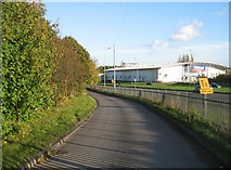 SU6252 : Allotment access road by Given Up