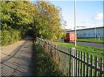 SU6252 : Allotment access road 2 by Given Up