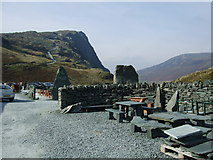 NY2213 : Entrance to Honister Mine & Visitor Centre by Adie Jackson