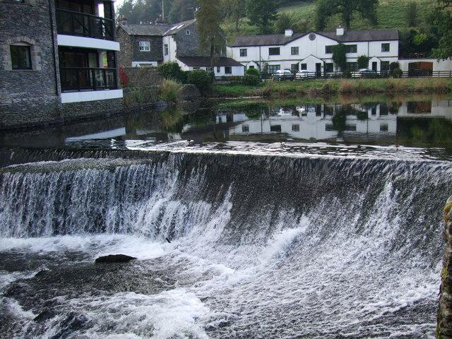 Weir at Cowan Head