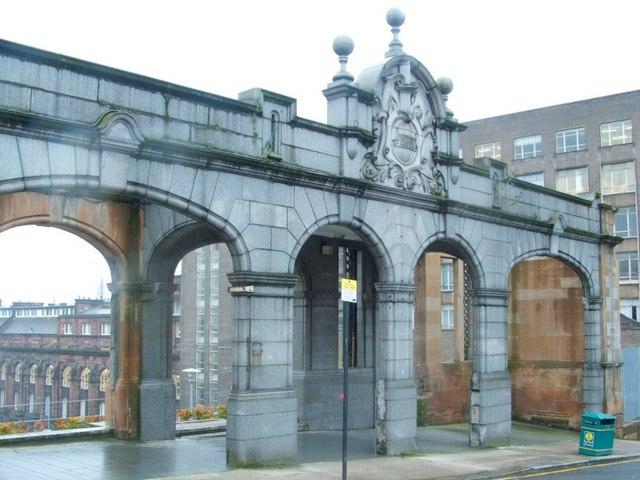 "Facade of Royal Maternity Hospital (""Rottenrow"")"