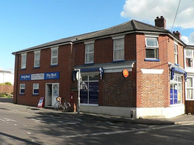 Bartley: shop/post office