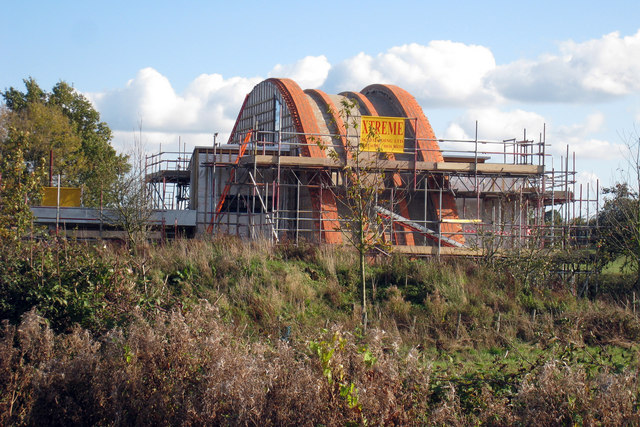 Grand Designs Eco House at Crossway, Pagehurst Road, Staplehurst, Kent