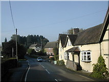 SO5793 : The crossroads in Brockton by Peter Beaven