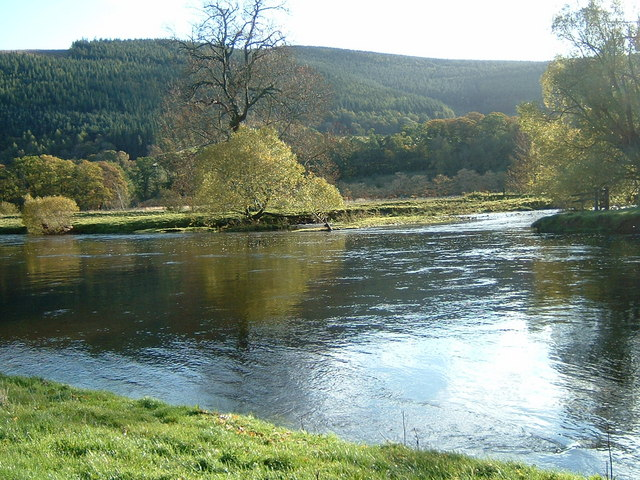 The Quair Water joins the Tweed