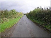 C3315 : Road at Creeve by Kenneth  Allen
