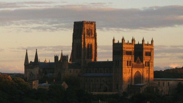 Late evening light on Durham Cathedral