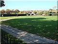 TQ2381 : Kensington Memorial Park, Dog Exercise Area by Oxyman
