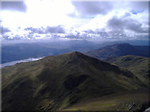 NN6240 : Beinn Ghlas (1066m) from Ben Lawers (1214m) by Adele