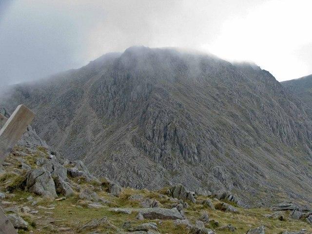 Bristly Ridge and Glyder Fach