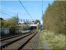 SO9596 : Bilston Station View by Gordon Griffiths