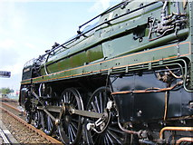 ST8026 : Locomotive Detail by Clive Warneford