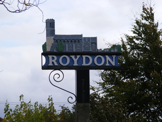 Roydon Village Sign