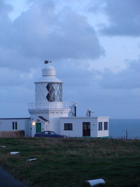 Lighthouse at St Ann's Head
