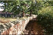 SK6514 : Church Walk by Richard Croft