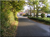TM2850 : Saddlemakers Lane, Melton by Adrian Cable