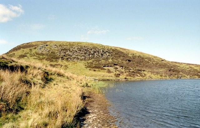 The northwest corner of Fyn Loch