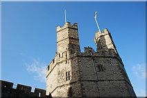 SH4762 : Tŵr yr Eryr Castell Caernarfon Castle Eagle Tower by Alan Fryer