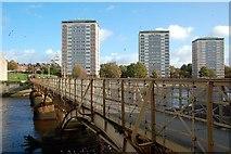 NS3421 : Turner's Bridge, Ayr by Mary and Angus Hogg