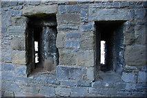 SH4762 : Holltau Saethu Castell Caernarfon Castle Arrow Loops by Alan Fryer