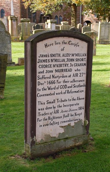 The Covenanters' Gravestone
