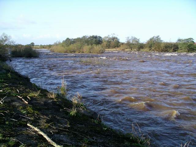 River Esk at Longtown