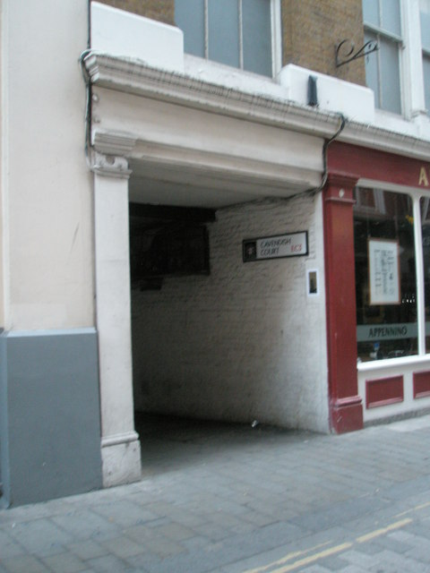 Cavendish Court off Devonshire Row