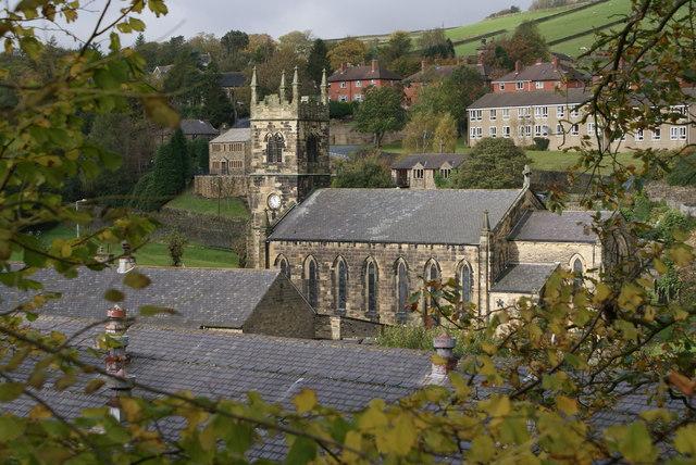 St.David's Parish Church, Holmbridge