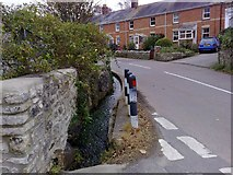 SY6085 : Culvert in Portesham by mick finn
