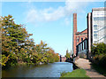 SO8276 : Staffordshire and Worcestershire Canal at Kidderminster by Roger  Kidd