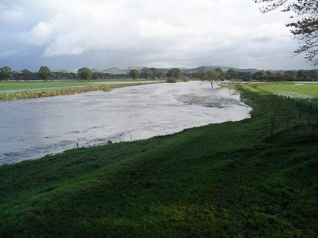 River Annan in flood