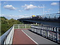 TQ1079 : The Parkway - North bound from the pedestrian bridge on the west side. by J Taylor