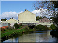 SO8480 : Industrial buildings by the canal at Cookley, Worcestershire by Roger  Kidd