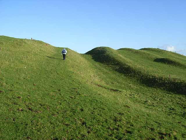 The Vallum at Downhill