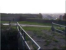 TQ7668 : Fort Amherst Redoubt by David Anstiss