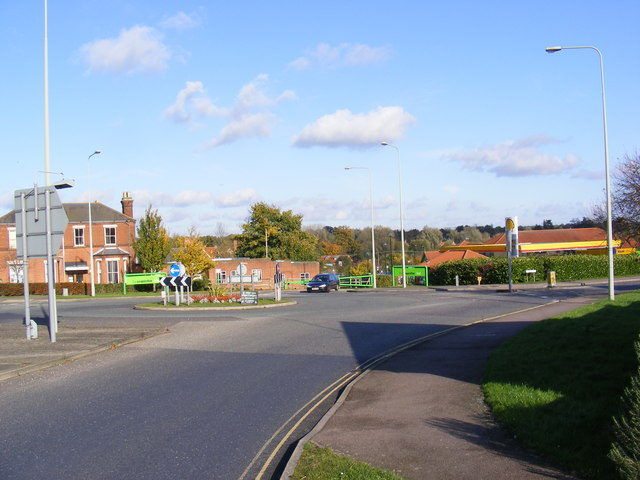 A144 London Road Roundabout