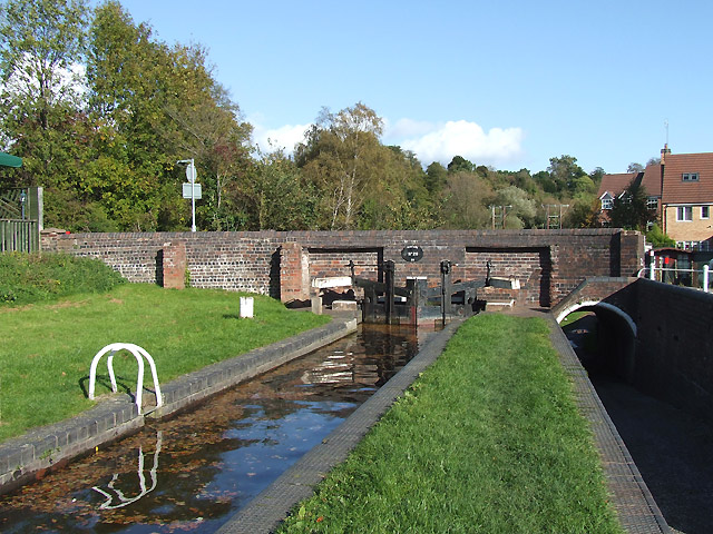 Kinver Lock and Kinfare Bridge, Staffordshire